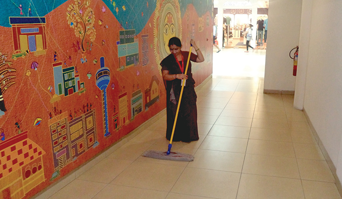 Housekeeping at AlphaOne-2