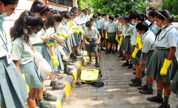 ATEST NEWS Karcher India's contribution to Swachh Bharat