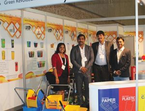 K.C. Green Revolution: (Centre) Naveen Chauhan & Bipin Padhi