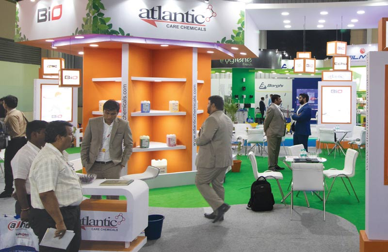 Atlantic Care Chemicals stall