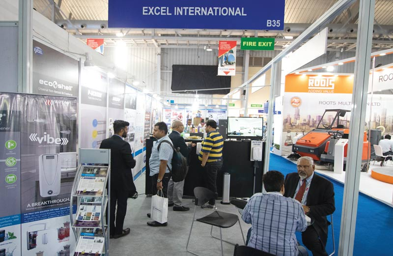 excel international stall