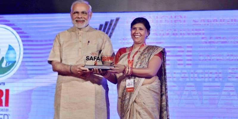 Former manual scavenger wins Padma Shri