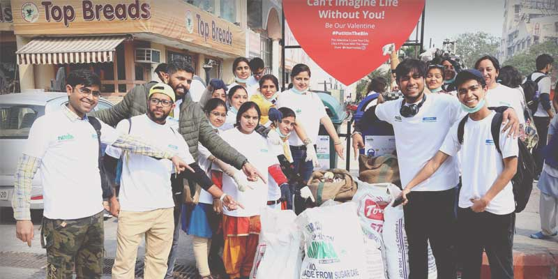 A Chakachak Valentine: A campaign to promote waste segregation in Noida