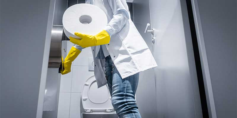 Steps to improve washroom hygiene during Covid-19